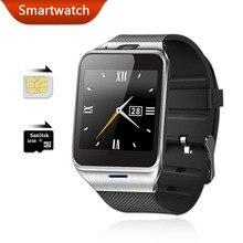 Купить онлайн Смарт-часы Android Wear aplus SmartWatch gv18 с сим-карты Интеллектуальные bluetooth Часы мобильного телефона SmartWatch