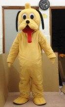 MC10 Hoge kwaliteit Dog Mascotte Kostuum Cartoon Mascotte Kostuum Karakter Kostuum Gratis Verzending