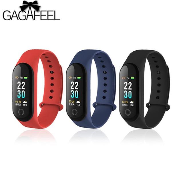 GAGAFEEL M3 Smart Watch Sleep Monitoring Band Blood Pressure Smart Bracelet Step