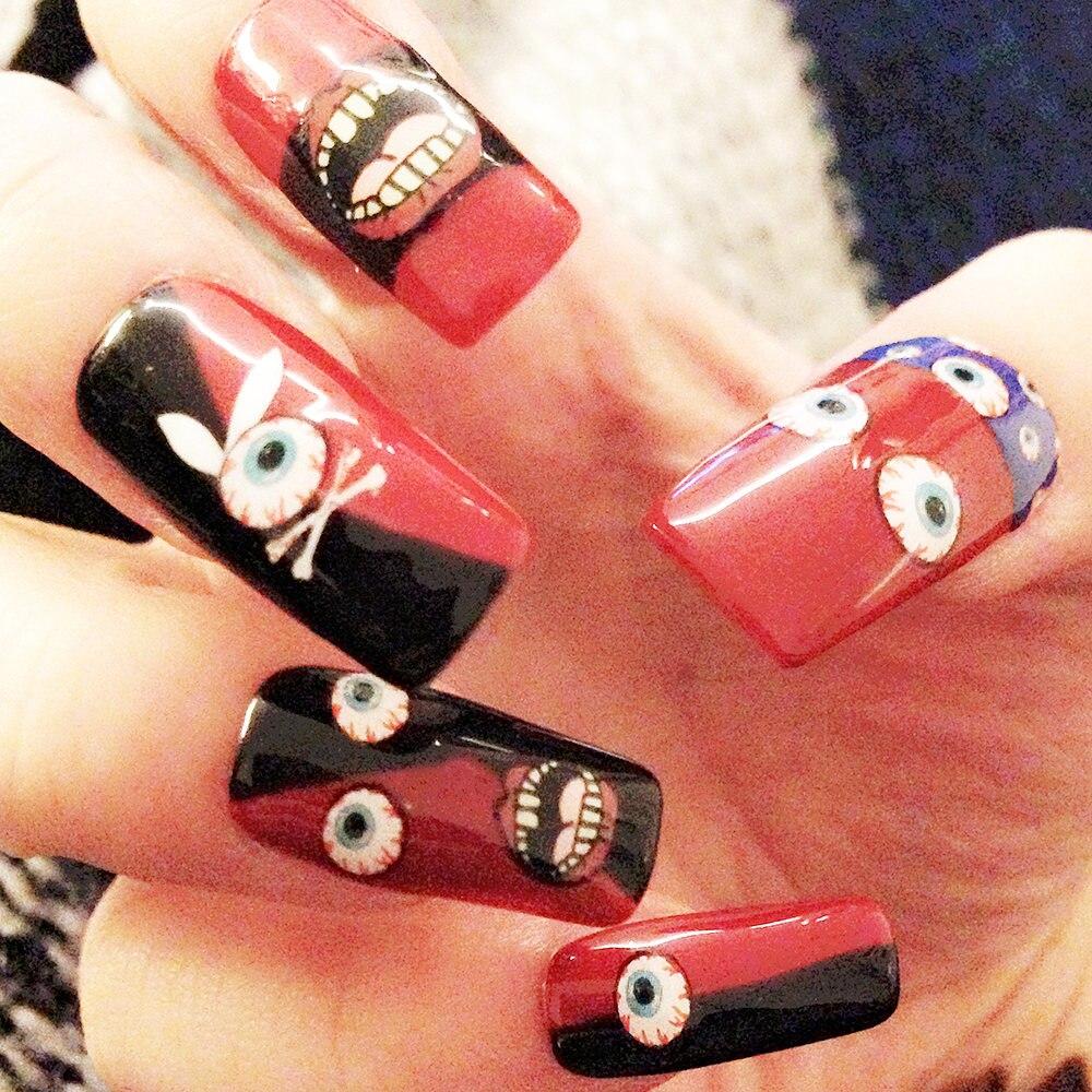 Funky Halloween Style Nails Photos - Nail Polish Ideas ...