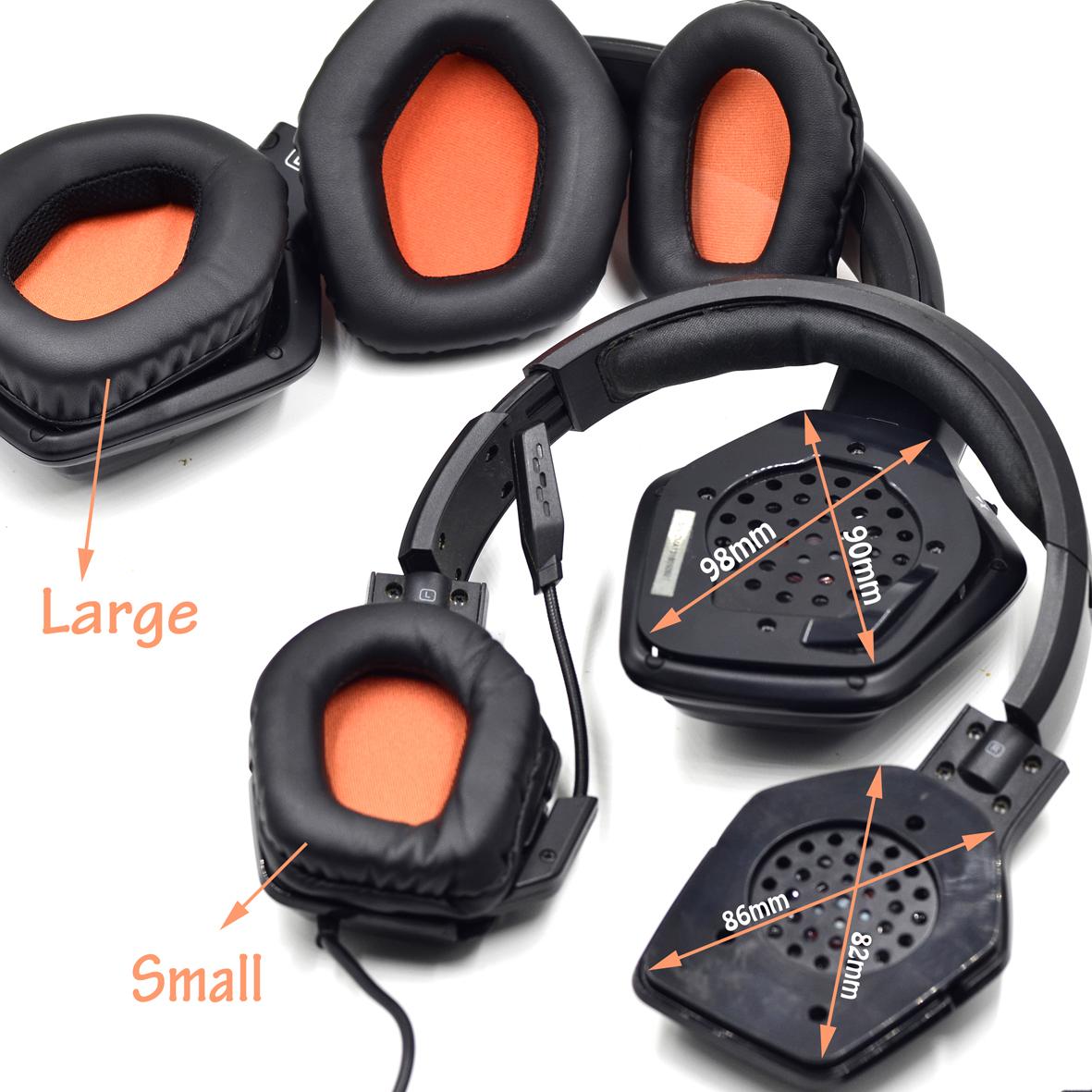 Defean Replacement Ear Pads Cushion For Tritton Warhead 7 1 Dolby Katana Detonator Xbox 360 Headphones Earphone Accessories Aliexpress
