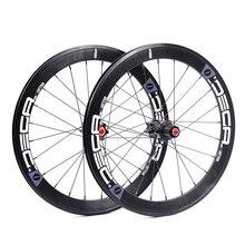 """Ruote in alluminio DECA 451 20 """"1 1/8"""" mozzo freno a disco freno a disco per Fnhon pieghevole MINIVELO recumfolding Bike set di ruote"""