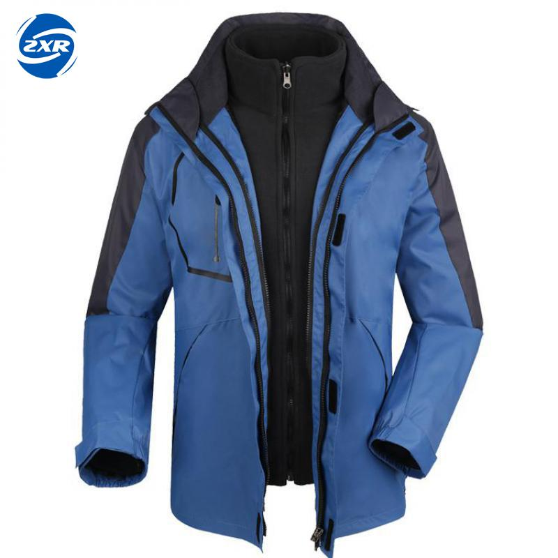 Men Winter 2 Pieces Softshell Fleece Jackets Outdoor Sports Waterproof Thermal Hiking Skiing Female Coats Plus Size стоимость
