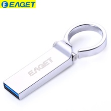 Official Authorization EAGET U96 64GB Metal Pen Drive U Disk USB Flash Drive Memory Stick Waterproof Key Ring Chain USB 3.0 64GB