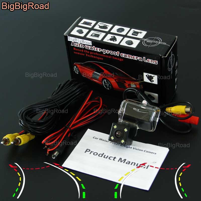 BigBigRoad Car Intelligent Dynamic Track Rear View Camera Night Vision For Mazda CX5 CX 5 CX