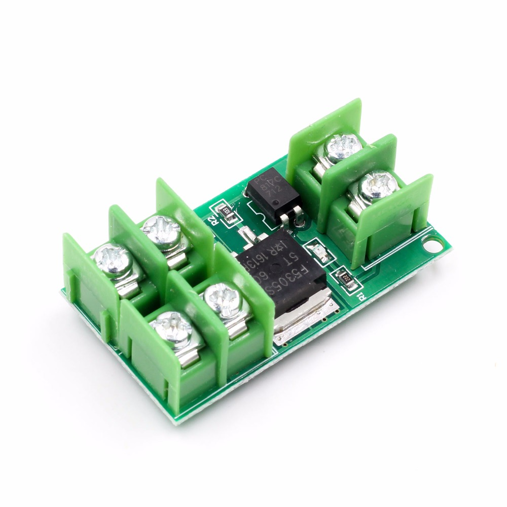 Active Components Integrated Circuits Youe Shone Dc 5v-36v Electronic Pulse Trigger Switch Control Panel Mos Fet Field Effect Module Driver For Led Motor Pump