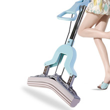 Sponge Mop Glue Cotton Twist The Water Microfibre Nozzle Flat Rotated Spray Self-squeezing Drag Lazy Floor Magic