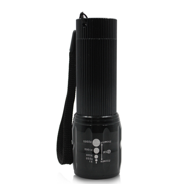 Q5 Mini Camping Flashlight LED Torch AAA Battery Charger Powerful Lantern Tactical  Lamp For Self