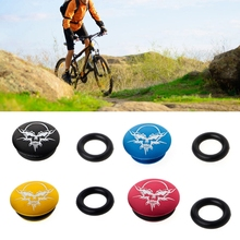 MTB Bicycle Crankset Teeth Plate Crank Cover Dustproof Waterproof Bikes Axis Cap