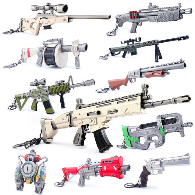 Game Toy Scar Rifle Keychain / Wallet-chain /Backpack Accessory – Fortress AWP