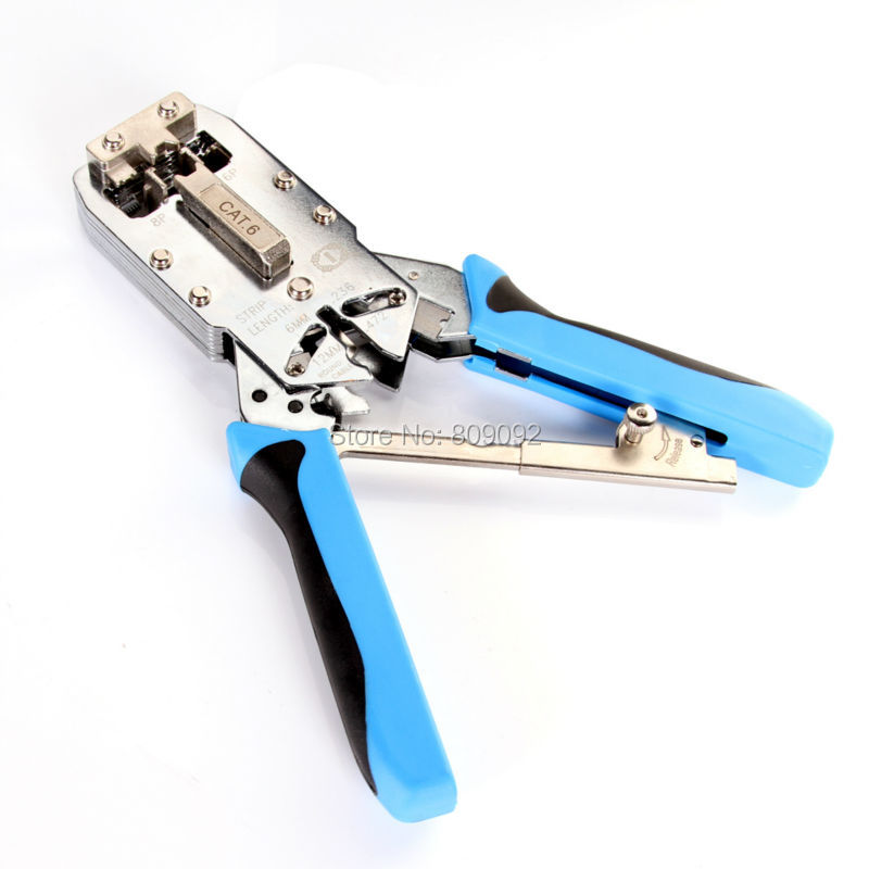 New High quality RJ45 TL-2810R Network RJ11 Cable Ethernet Cat 6 Terminals Crimping Tool Plier Crimper new high quality rj45 rj11 tl 500 modular network lan crimping tool plier crimper