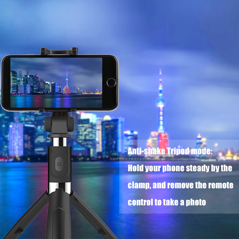 Image 5 - Selfie Bluetooth Selfie Stick Tripod Universal Selfie Stick Mobile Phone Monopod tripod For Android Ios for iPhone 6 7 8 x maxLive Tripods   -