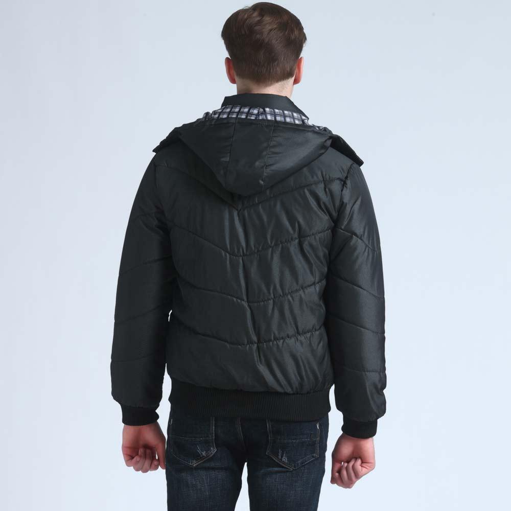 Mwxsd yeni Marka kış sıcak Ceket erkekler için kapüşonlu palto - Erkek Giyim - Fotoğraf 2