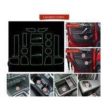 MISURA PER Mitsubishi Eclipse Croce 2017 2018 2019 Porta per Interni Auto Box Auto di Stoccaggio Pad Acqua Zerbino s Zerbino s auto Porta Gap Pad Zerbino