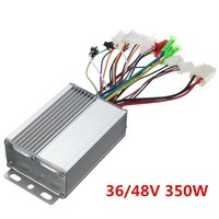 36V 48V 350W Brushless Motor Controller For Electric Vehicle Scooter With Without Hall Sensor NEW Arrival