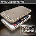 Original verus caso para iphone 6 6 s 6 plus 6 s plus Crystal Slim Fit Marco Borrar Back Duro Híbrido Resistente Cubierta A Prueba de Golpes casos