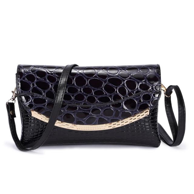LYKANEFU Patent Pu Material Clutch Bag Women Messenger Bags for Women Clutches Evening Bag Casual Small Bolsas Femininas Couro