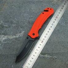 OEM Kershaw 8650 katlanır bıçak 8Cr13Mov bıçak naylon fiberglas kolu kamp avcılık meyve bıçağı EDC aracı
