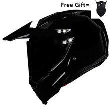 HOT SELL Gloss black Helmet Motorcycle Racing Bicycle Helmet