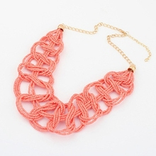 Neon Choker Statement Set Necklace