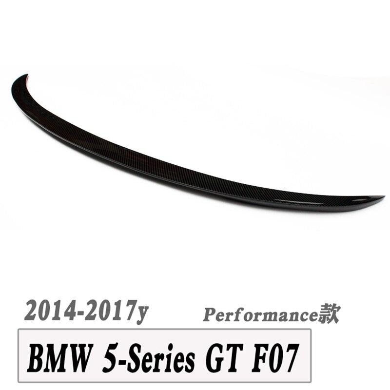 F07 M-becquet de coffre arrière en fibre de carbone pour bmw série 5 GT F07 gran turismo LCI 2013 + 530i 535i