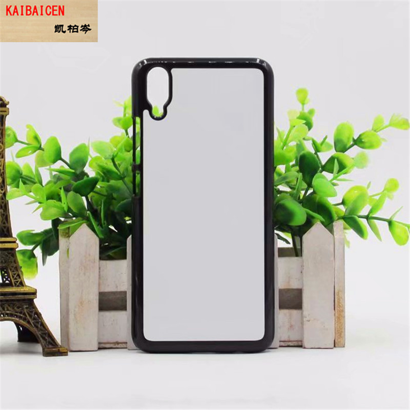 DHL Freeshipping for VIVO V11V11 Pro Sublimation Plastic Hard Case Cover With Metal