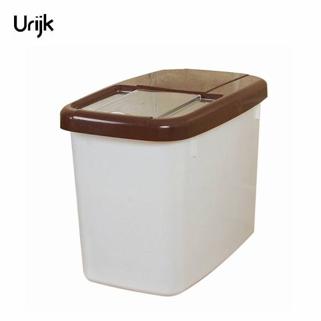 Urijk Plastic Large Rice Storage Boxes Food Organizer Boxes Rice Fresh Box  For Storage Food Containers