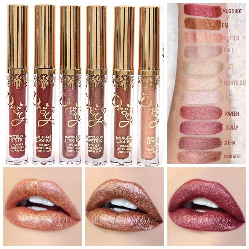 New Arrival Nude Lipstick Brand Makeup Liquid Lipstick