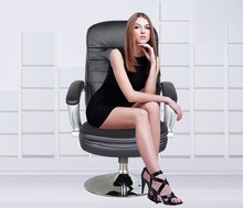 office meeting room chair rotation stool computer info desk chair free shipping