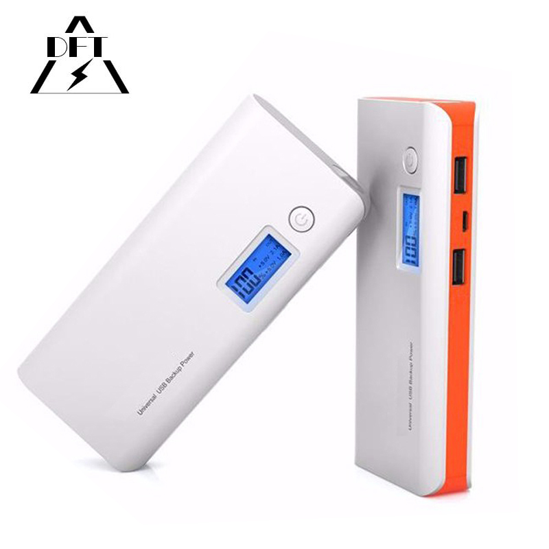 20000mAh Portable Battery Mobile Power Bank USB Charger 18650 battery with LED Indicator For Smartphone Cellphone for samsung s4