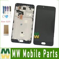 1PC Lot For Meizu M3 Note M681H L681H With Frame LCD Display Touch Screen Digitizer Assembly