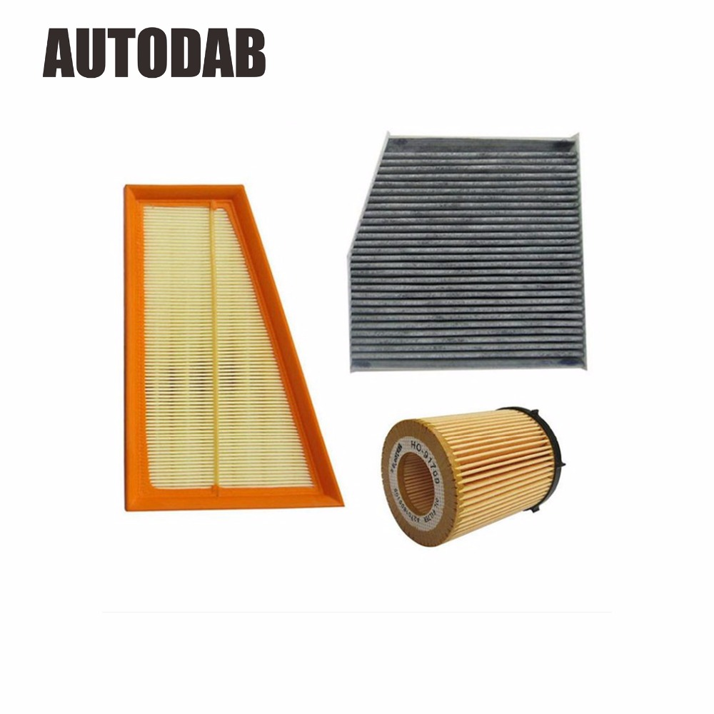 High Quality filters for 2013 Mercedes Benz A180 A200 A250 air filter oil filter cabin filter