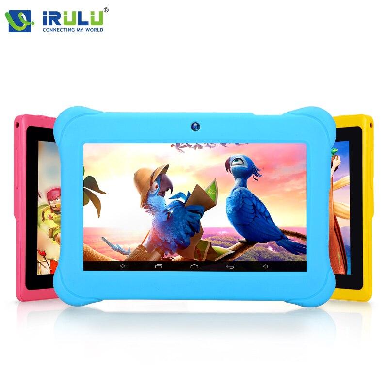 "Original iRulu Marca 7""Tablet PC para niños educacíon ,Dual core ,doble cámara A"