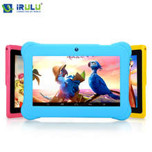 iRULU BabyPad Y1 7 Kids Tablet PC Quad Core Dual Camera Android 4 4 8GB Free