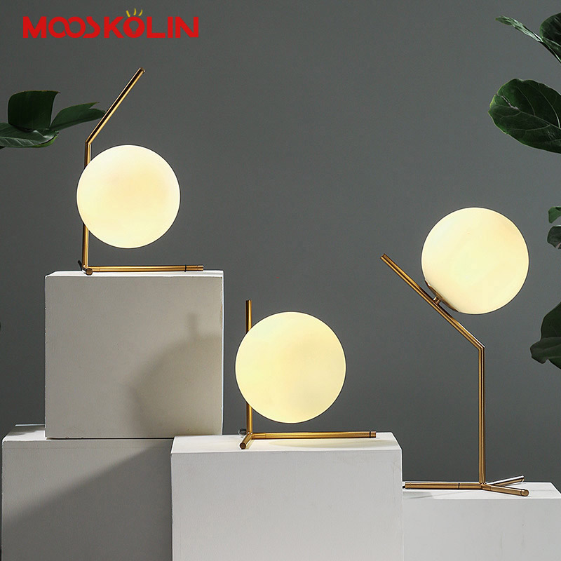 Modern Table Lamp Simple Desk Lamp E14 Iron Glass Table Lights For Bedroom Bedside Children Reading Book Light Study Lighting modern table lamp simple desk lamp e27 iron wood table lights for bedroom living room children reading book light study lighting