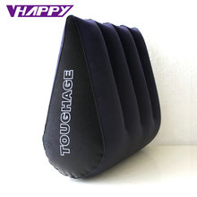 TOUGHAGE Sex Pillow Inflatable Sex Furniture Triangle Magic Wedge Pillow Cushion Erotic Products Adult Game Sex Toys for Couples inflatable sex furniture triangle sex magic pillow erotic product sex cushion sofa adult couples games stimulate sex toys
