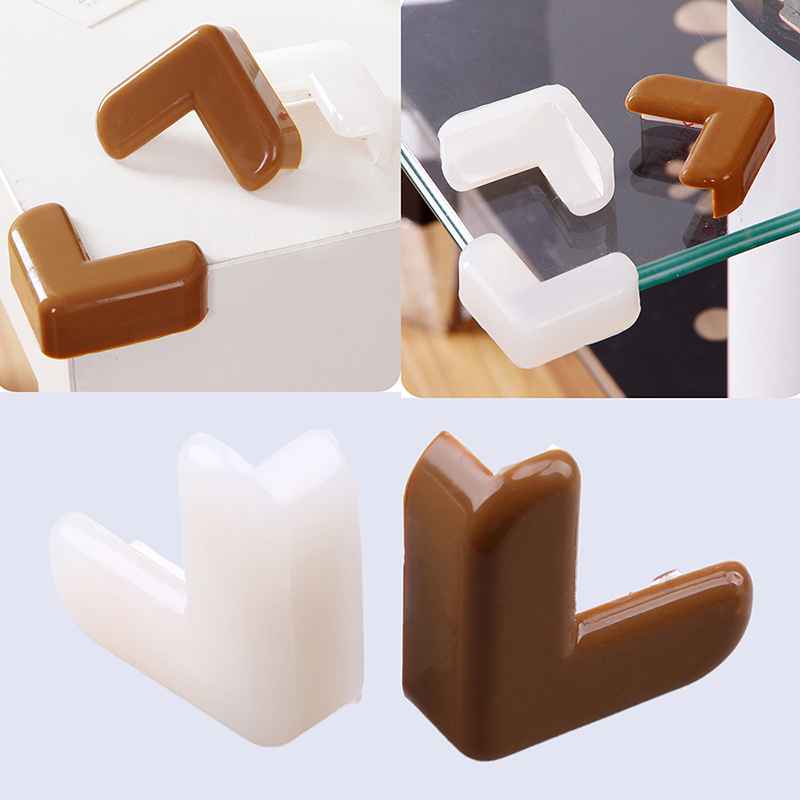 WHISM Baby Children Soft Silicone Desk Table Edge Corner Safety Guard Protector Bumpers Cushion Furniture Protection Accessories 20pcs ransparent silicone anti collision angle table edge cushion child safety guard bumpers anti crash security protector ali88