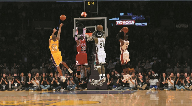 P1041 Michael Jordan Poster 15x27 Champion Rings Basketball Star Decoration