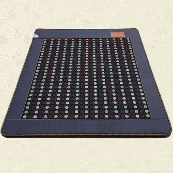 Good Quality! Jade Heat Physical Therapy Cushion Tourmaline Health Care Mat with Digital Display Heat Free shipping good quality natural jade mat tourmaline heat chair cushion far infrared heat pad health care mat ac220v 45 45cm free shipping