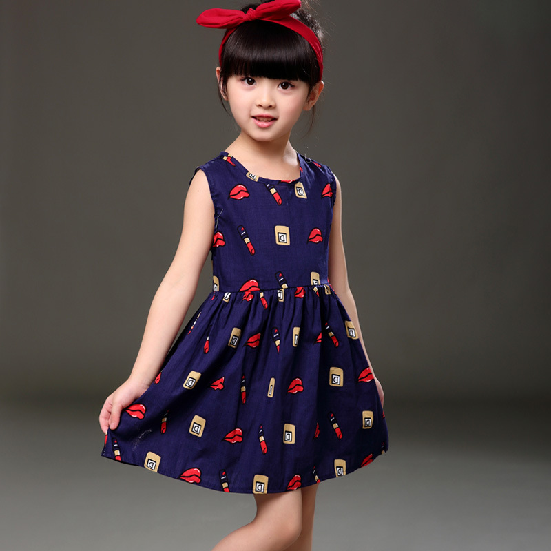 Подробнее о Baby Girl Dress kids dresses for Girls Clothes summer sleevelessnova brand Children clothing girl Summer princess dress baby girl dress 2016 brand girls summer dress children clothing lemon print kids dresses for girls clothes robe princesse fille
