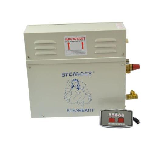 Générateur de vapeur 9KW 220 v ST-135M humide sauna avec contrôleur externe pour sauna et bain SPA douche