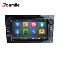 Josmile 2 Din Car DVD Multimedia Player For Opel Vectra C Zafira B Vivaro Astra H GJ Corsa B C D Meriva BAntara Radio Navigation