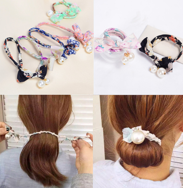 Fabric Hair Style Tool For Hairdo Updo Bob Stylist Women Hair