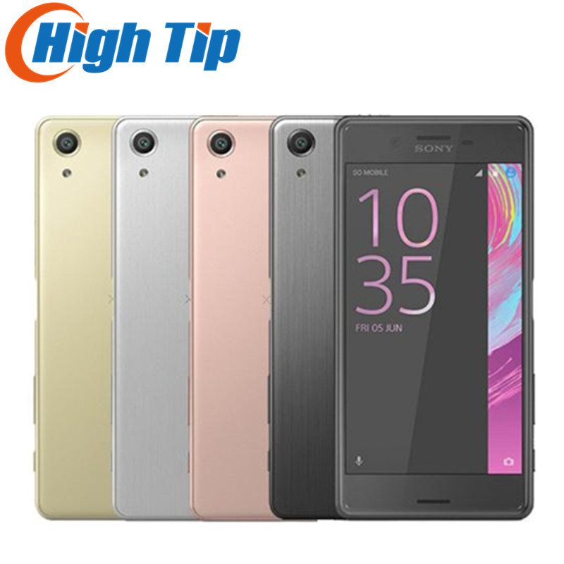 """Dual Sim Sony Xperia X Performance F8132 Original GSM 4G LET Android 5.0"""" 23MP Quad Core RAM 3GB ROM 64GBWIFI GPS Mobile Phone"""