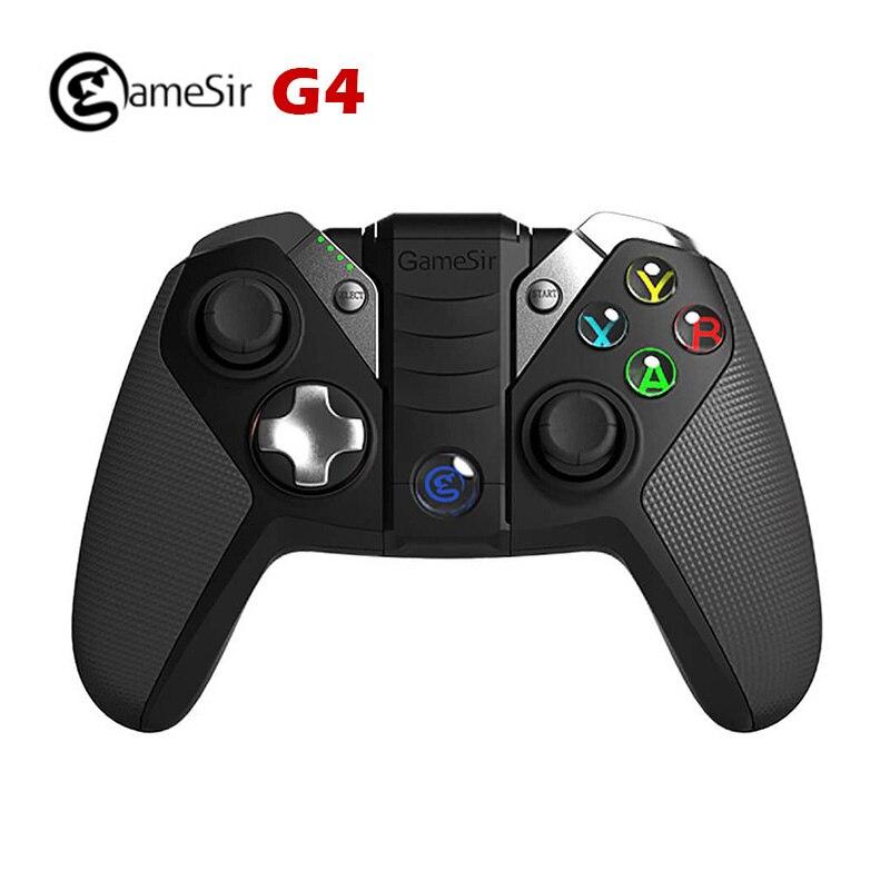 Prix pour GameSir G4/G4s Bluetooth 4.0/2.4G Sans Fil/Filaire nes Gamepad jeu snes Controller 800 mAh Capacité pour iOS Android PC PS3