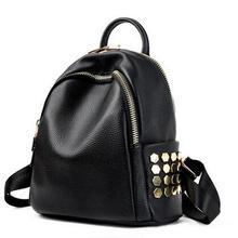 Модные женские рюкзак колледж школьный рюкзаки для девочки-подростка путешествия искусственная кожа небольшие рюкзаки Bolsa feminina