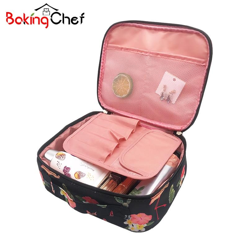 Bakingchef Для женщин путешествий косметическая хранения организации Красота составляют  ...
