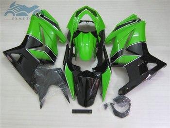 Fairing kits for Kawasaki injection fairings Ninja 250r 2008 2009 2010 2014 EX250 08 09 10 14 ZX250 green black ABS bodykits