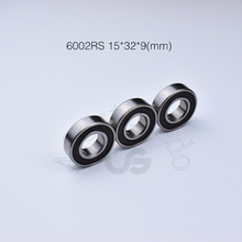 6002RS 12*28*8(mm) 1Pieces bearing ABEC-5 6002 6002RS Rubber  sealed chrome steel deep groove bearing цена 2017