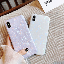 Glitter Marble Case For iphone X XR XS MAX Soft TPU Back Cover 8 7 6 6S Plus Phone